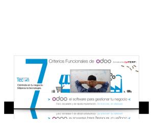 Criterios funcionales de Odoo