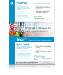 Página Web y Tienda Online