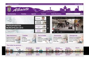 Web Ayuntamiento de Albacete
