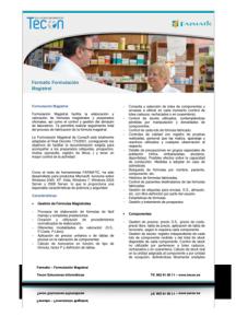 Farmatic Formulación Magistral