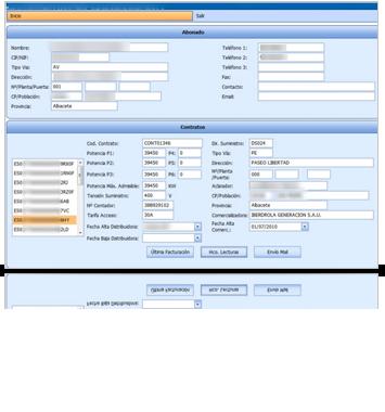 Software de gestión de distribuidoras eléctricas