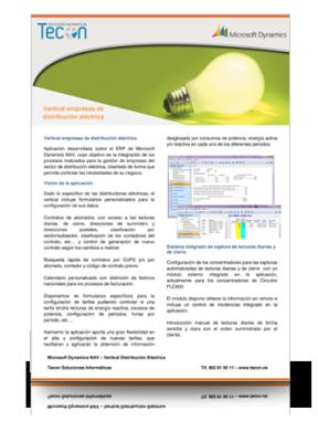 Guía de gestión de distribuidoras eléctricas