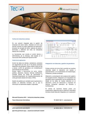 Guía de Gestión de Industrias Lácteas
