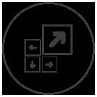 Icono de virtualización