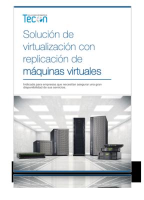 Solución de virtualización con replicación de máquinas virtuales