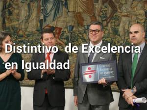 Distintivo Excelencia Igualdad