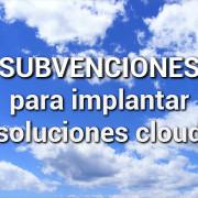 Subvenciones Cloud
