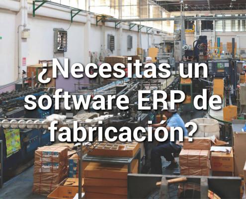 ERP de fabricación