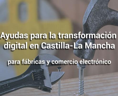 proxima convocatoria de ayudas para fábricas y comercio electronico castilla la mancha