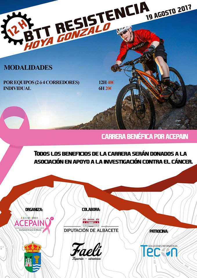 carrera benefica acepain