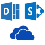 Logos Delve, SharePoint y OneDrive