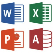 Logos Word, Excel, PowerPoint y Access