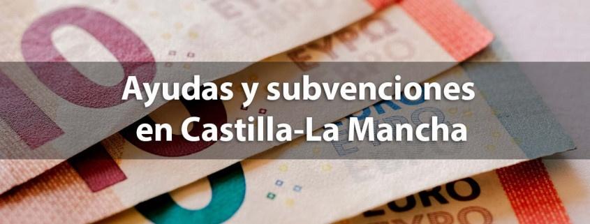 Ayudas y subvenciones en Castilla La Mancha