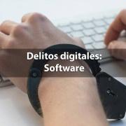 delitos digitales software pirata