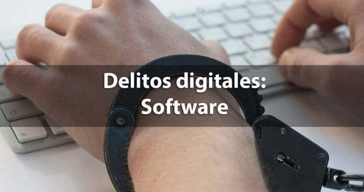 delitos digitales software pirata