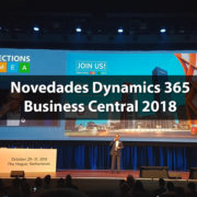 Directions EMEA 2018: Novedades Dynamics 365 Business Central 2018