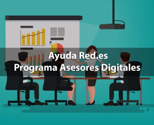 Ayuda Red.es Programa de Asesores Digitales