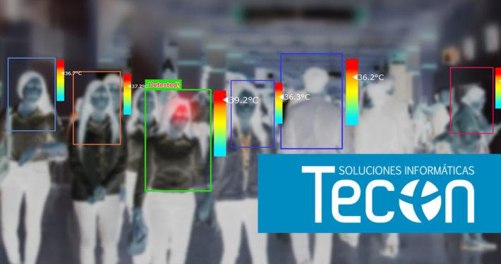 Cámaras termográficas y dispositivos térmicos de medición de la temperatura corporal en espacios públicos - tecon