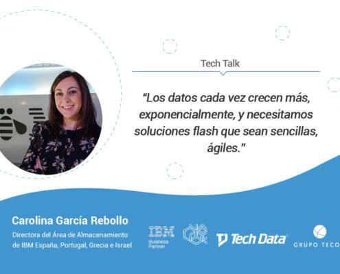 Entrevista a Carolina García Rebollo, directora del área de almacenamiento en iBM