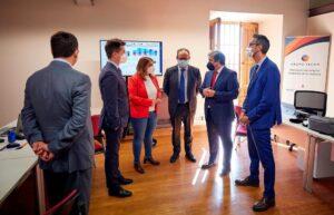 Grupo Tecon y Oracle en la visita al centro tecnológico regional de Talavera