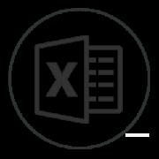 Logo excel curso online tablas dinámicas - Tecon