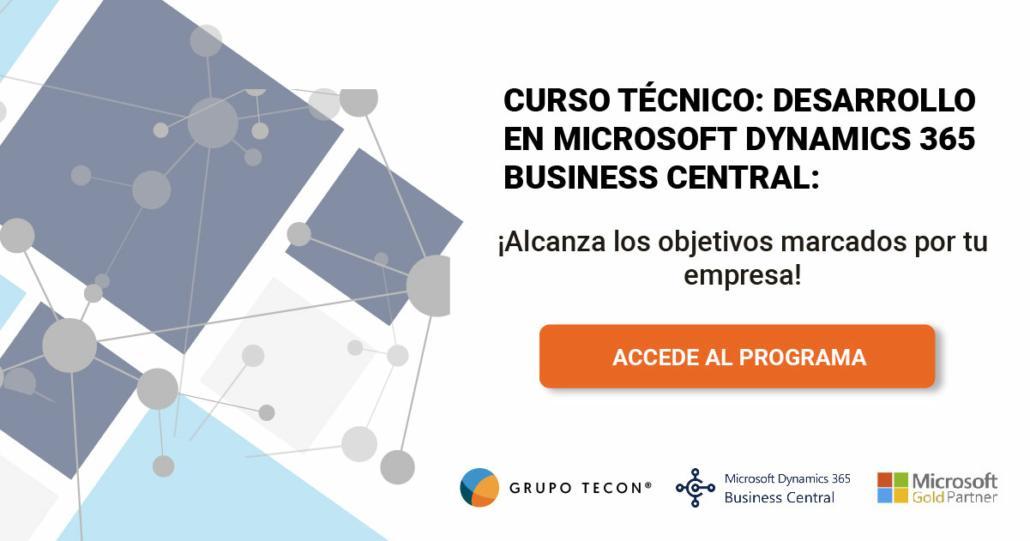Descarga el temario: Curso desarrollo en Microsoft Dynamics 365 Business Central