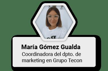 Formadora y experta - María Gualda